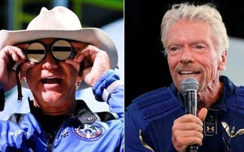 Branson and Bezos may not be astronauts under