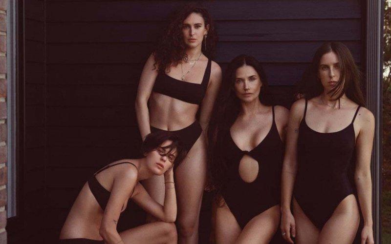 Демі Мур і її дочки знялися в рекламі