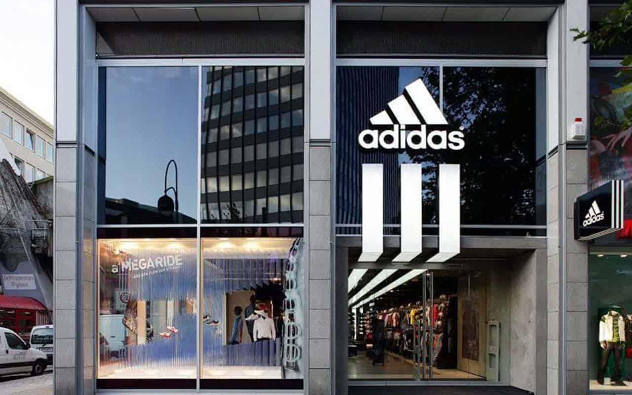 Adidas revenue grows by half