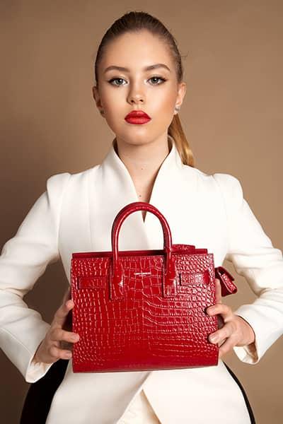 Anastasia Bondarchuk, top model, fashion blogger