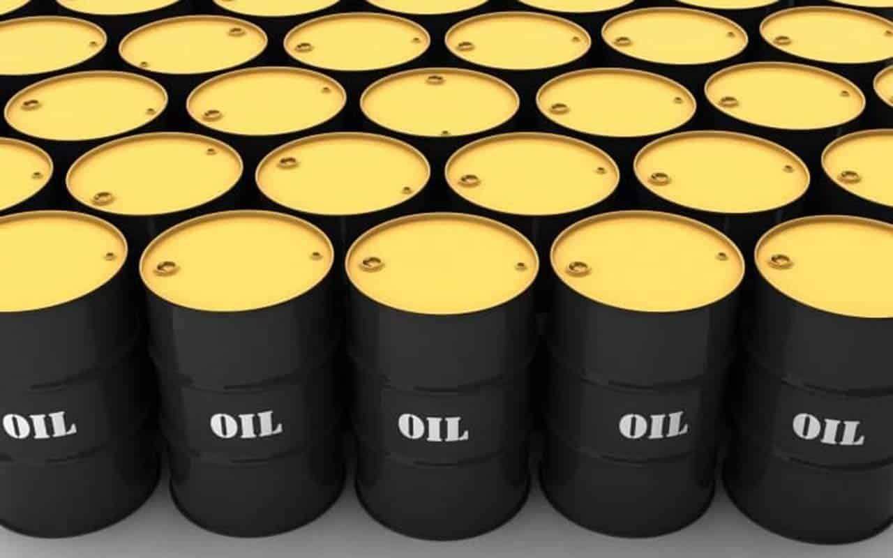 Brent price drops below $66 per barrel