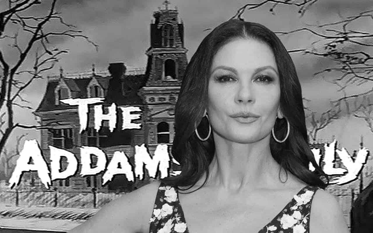 Catherine Zeta-Jones to play Morticia Addams