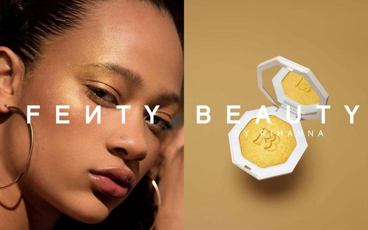 Rihanna's Fenty Beauty is the most popular celebrity