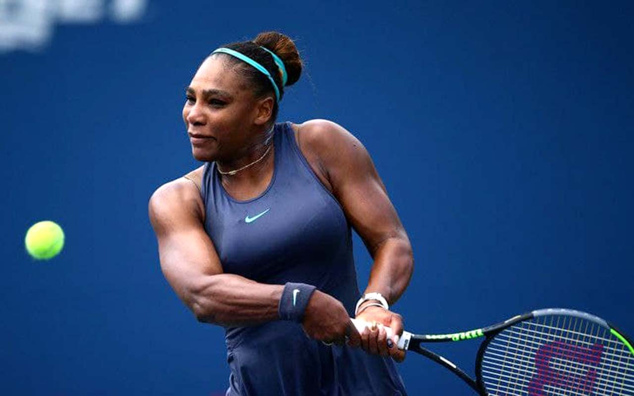 Serena Williams with US Open