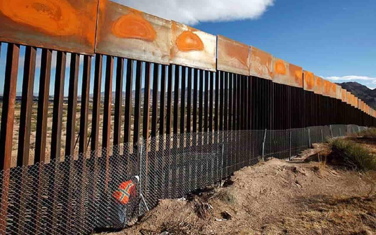Trump's wall worth $15 billion begins to collapse on border