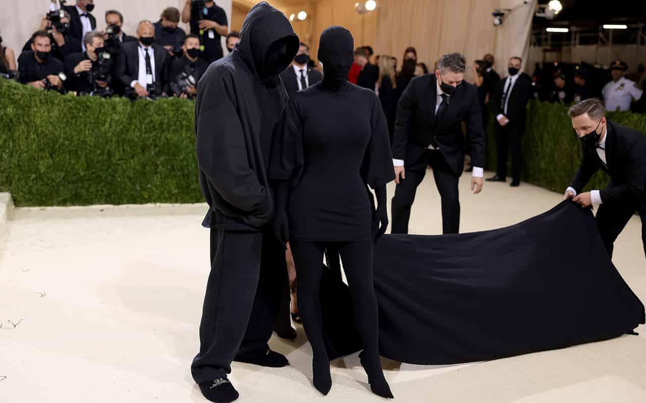 Kim Kardashian in Balenciaga and presumably Demna Gvasalia