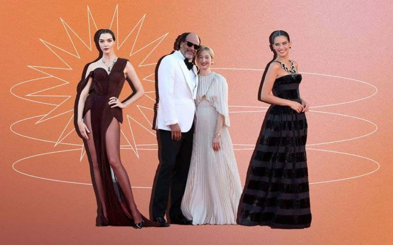 Day 2: celebrity guests on the red carpet of the Venice Film Festival