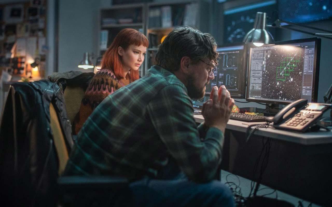 Дженніфер Лоуренс і Леонардо ДіКапріо - в трейлері фільму Don't Look Up