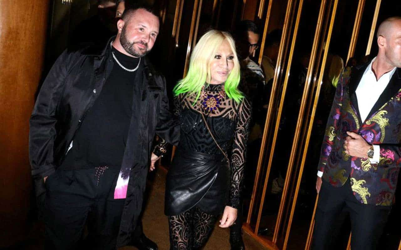 Fendi and Versace prepare a secret show