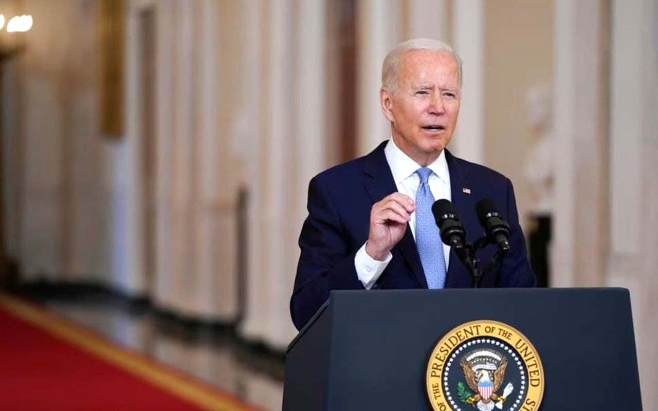 Biden discusses the situation in Afghanistan