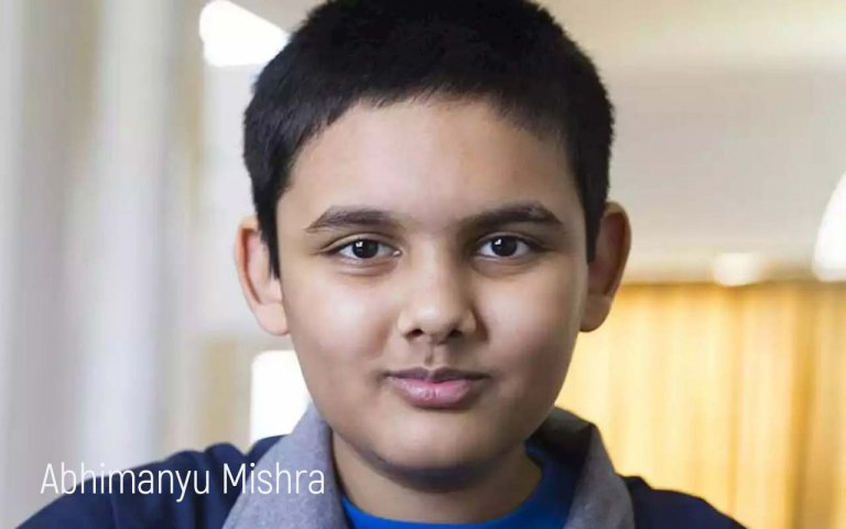 Personal brand Abhimanyu Mishra introduces the little chess player to the whole world
