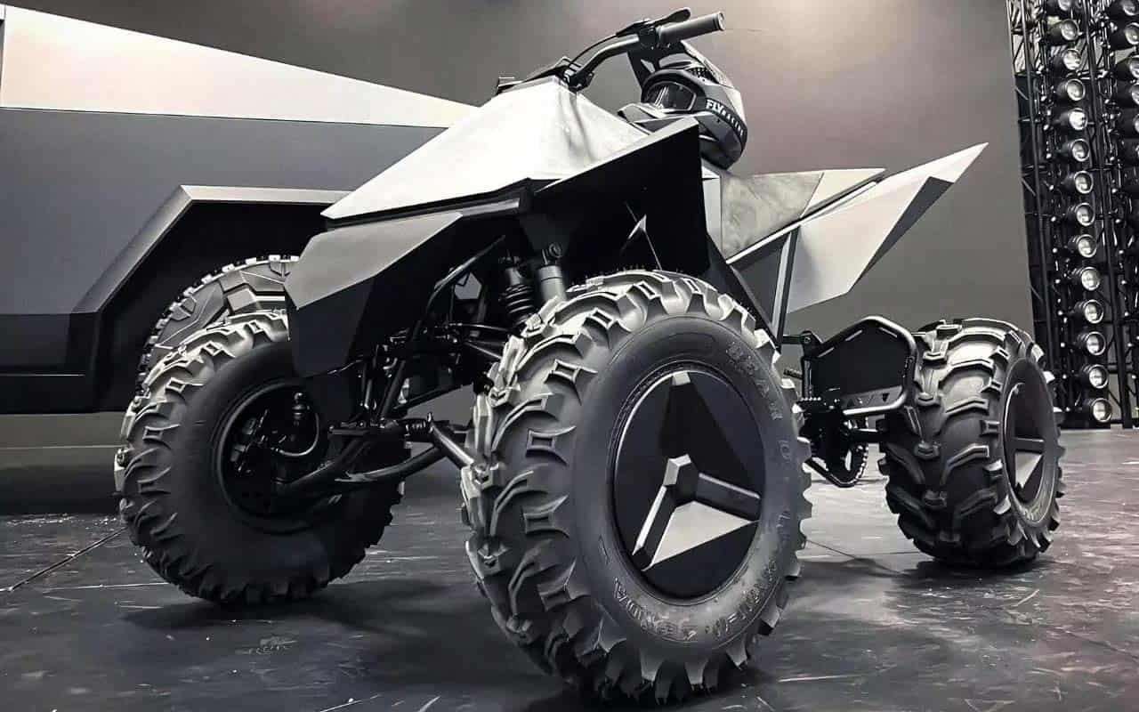 Tesla prepares the Cyberquad electric ATV
